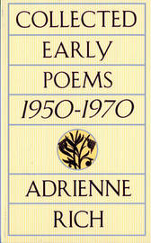 Collected Early Poems by Adrienne Rich image