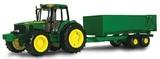 John Deere: 1:16 Big Farm John Deere Tractor with Wagon