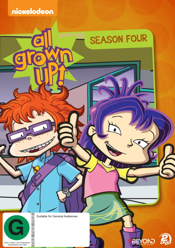 Rugrats: All Grown Up Season 4 on DVD