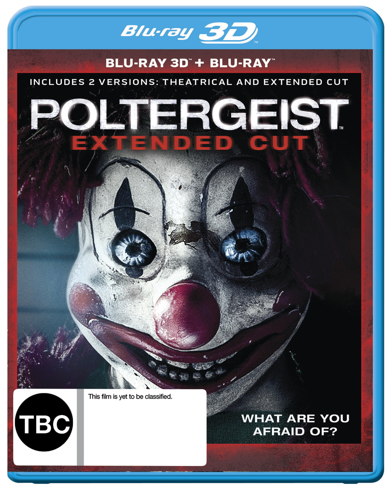 Poltergeist - Extended Cut on Blu-ray, 3D Blu-ray image