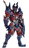Monster Hunter: Vulcanlog Glavenus Hunter - Action Figure