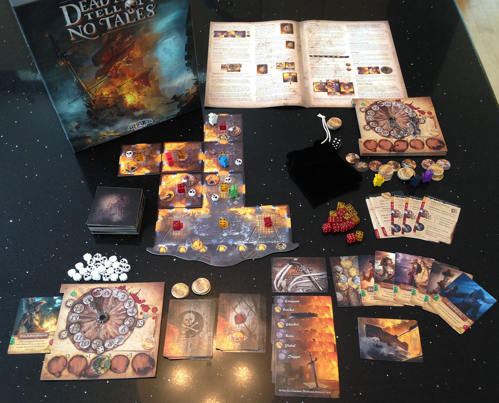 Dead Men Tell No Tales - Board Game image