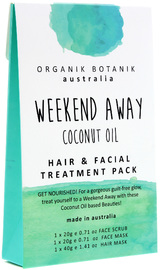 Organik Botanik Splotch - Weekend Away Hair & Facial Pack (Coconut Oil)