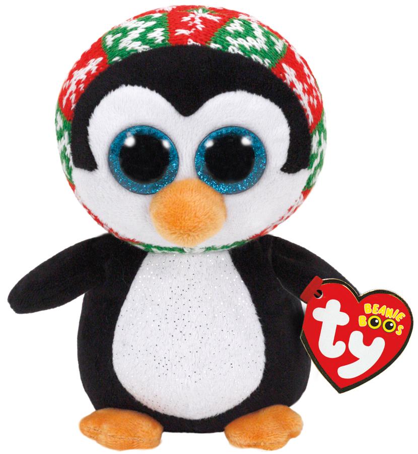 Ty Beanie Boo Penelope Penguin (Christmas) image