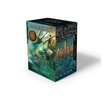 Percy Jackson And The Olympians 6 Book Boxed Set With Bonus Poster!