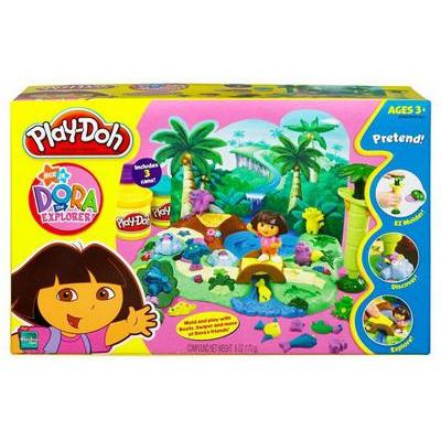 Play-doh Dora Playset image