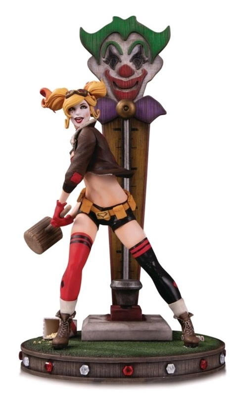 "DC Bombshells: Harley Quinn - 14"" Deluxe Statue"