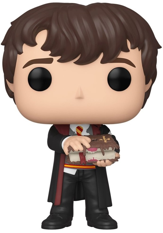 Harry Potter: Neville (with Monster Book) - Pop! Vinyl Figure