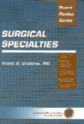 BRS Surgical Specialties by Traves D. Crabtree