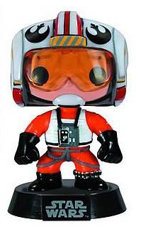Star Wars Pilot Luke Skywalker Pop! Vinyl Bobble Head Figure