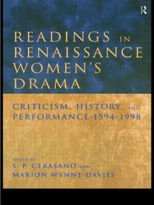 Readings in Renaissance Women's Drama image