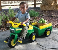 John Deere: Trike and Wagon Pedal Ride-on image