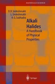 Alkali Halides by Dinker B. Sirdeshmukh