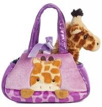 Fancy Pal Pet Carrier - Peek a Boo Giraffe
