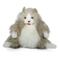 Folkmanis Hand Puppet - Fluffy Cat
