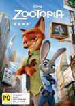 Zootopia on DVD