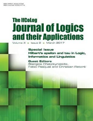 Ifcolog Journal of Logics and Their Applications. Hilbert's Epsilon and Tau in Logic, Informatics and Linguistics
