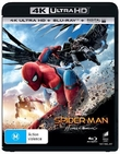 Spider-Man: Homecoming on Blu-ray, UHD Blu-ray, UV