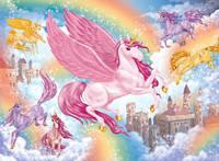 Hinkler: 100-Piece Sparkling Jigsaw Puzzle - Unicorns image