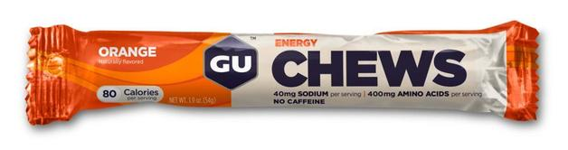 GU Energy Chews - Orange (54g)