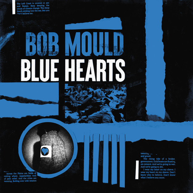 Blue Heart - Limited Edition by Bob Mould