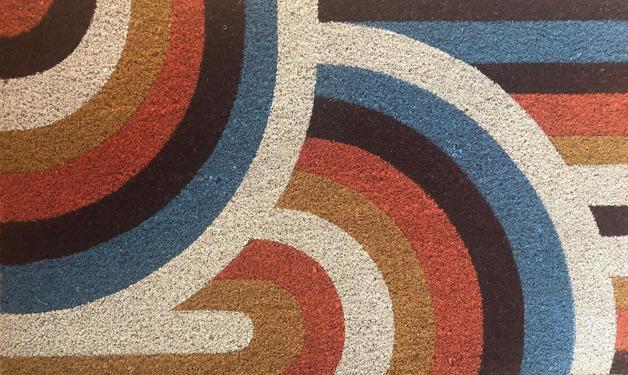 General Eclectic: Doormat - Art Deco