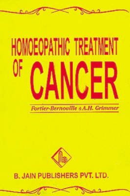 Homoeopathic Treatment of Cancer by F. Bernoville image
