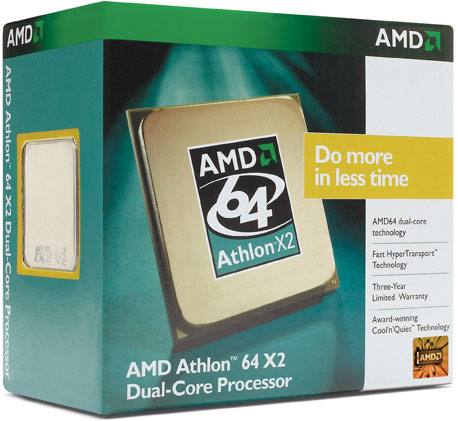 AMD Athlon 64 X2 5000+ Dual Core 64Bit SKT AM2  2000MHZ Hyper Transport image