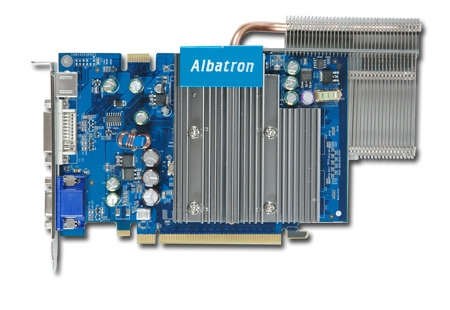 ALBATRON 7300GT 256MB DDR TV OUT HPIPE PCI-EXPRESS