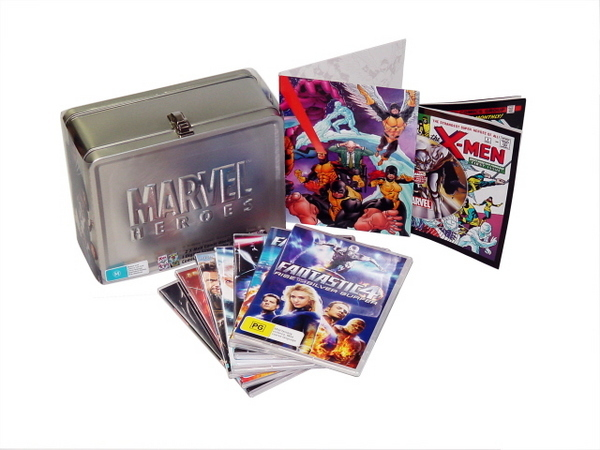 Marvel Heroes - Tin Limited Edition (7 Disc Tin Set) on DVD