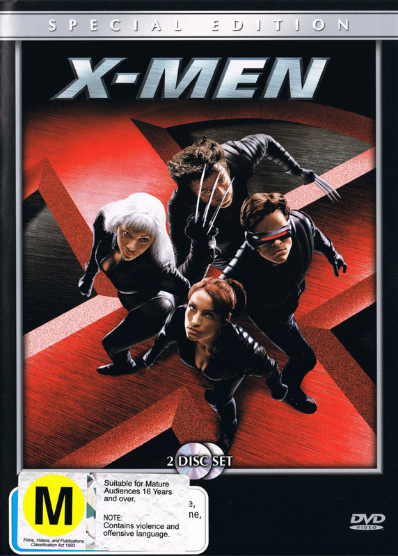 X-Men - Special Edition (2 Disc) on DVD