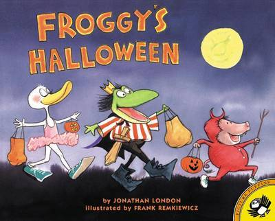 Froggy's Halloween by Jonathan London image