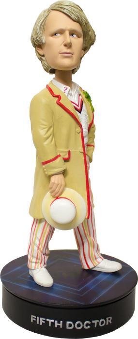 "Doctor Who 5th Doctor Light-Up 8"" Bobble Head"