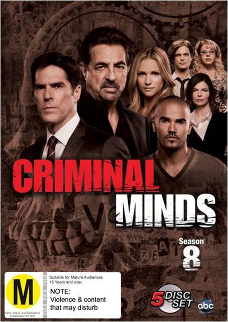 Criminal Minds - Season 8 on DVD