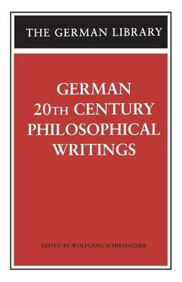 German Essays on Philosophy
