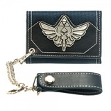 Legend of Zelda: Metal Triforce Badge Wallet with Chain