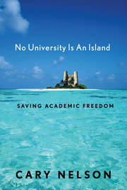 No University Is an Island by Cary Nelson image