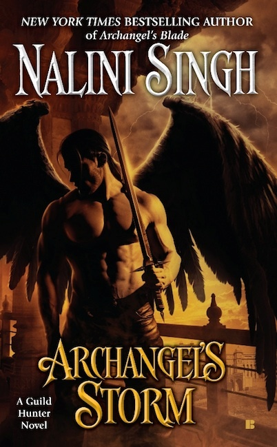 Archangel's Storm (Guild Hunter #5) US Ed. by Nalini Singh image