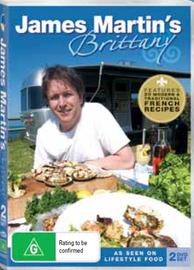 James Martin's Brittany (2 Disc Set) on DVD
