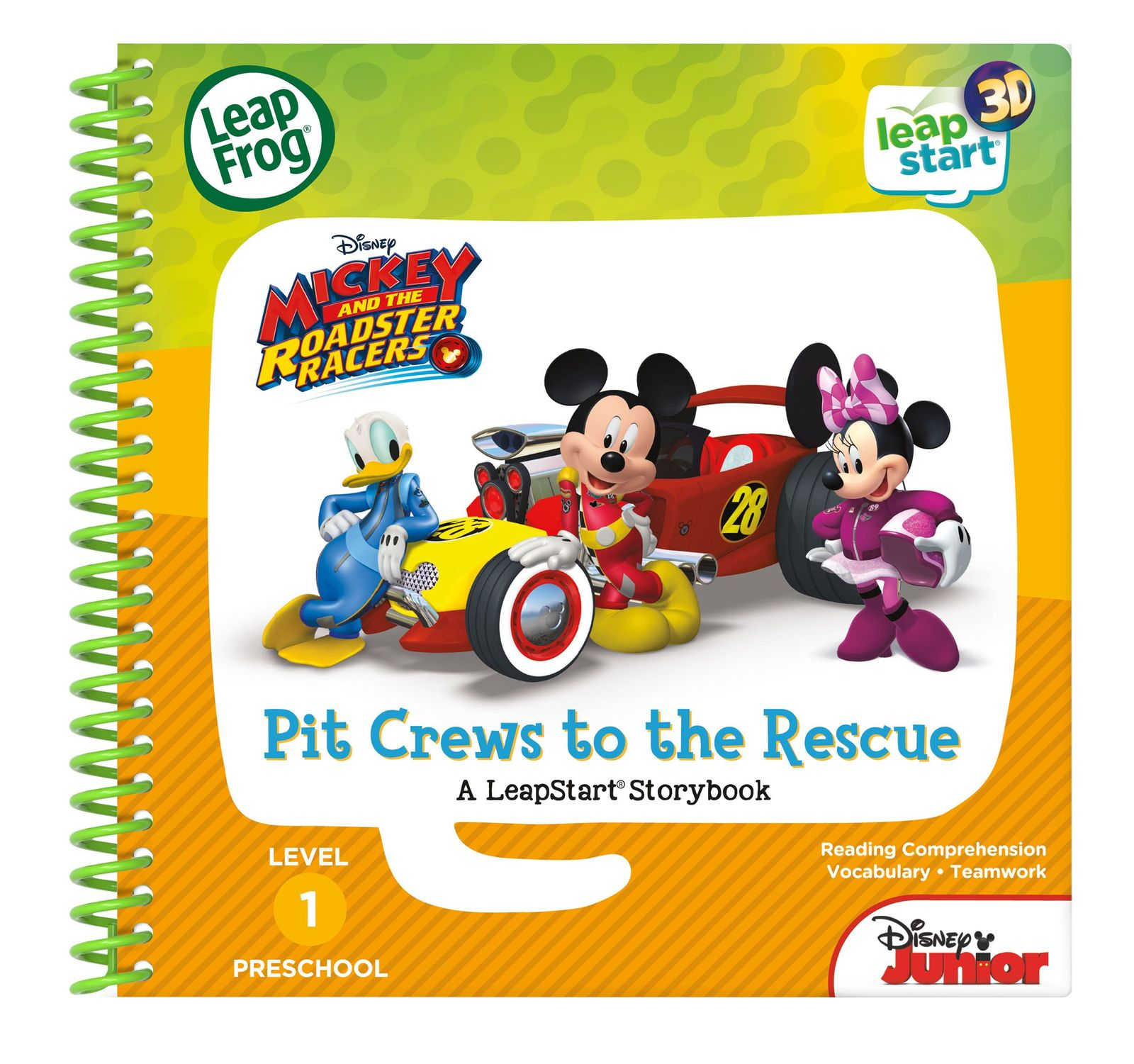 Leapstart 3D: Mickey & The Roadster Racers - Pit Crews to The Rescue (Level 1) image