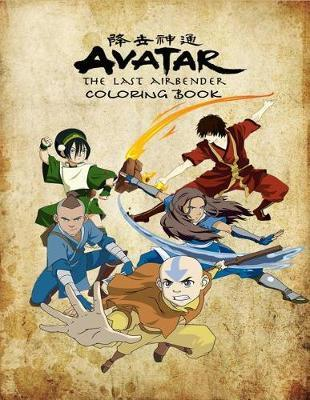 Avatar the Last Airbender Coloring Book by Emma Kovtun