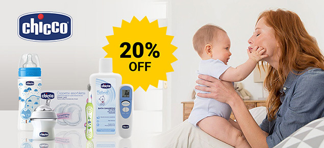 20% off Chicco  Baby