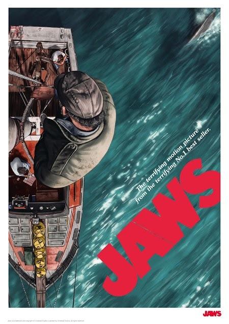 Jaws: Premium Art Print - Movie Poster #1