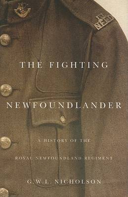 The Fighting Newfoundlander by Gerald W.L. Nicholson image