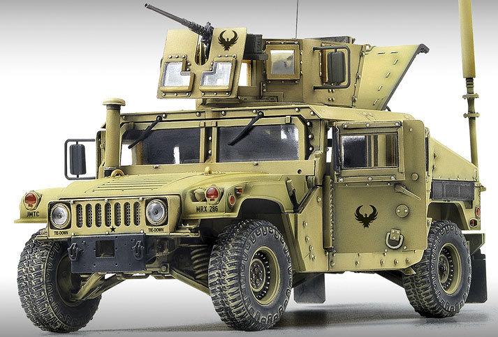 Academy M1151 Enhanced Arm Carrier 1/35 Model Kit image