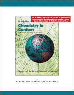 Chemistry in Context by American Chemical Society