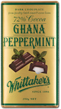 Whittaker's 72% Dark Ghana Peppermint Block (250g)