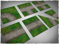 DeepCut Studios Cobblestone Road Neoprene Tiles Set