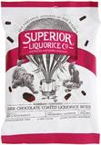 Superior Liquorice Dark Chocolate Liquorice Bites