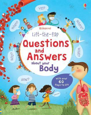 Lift the Flap Questions and Answers about your Body by Katie Daynes image